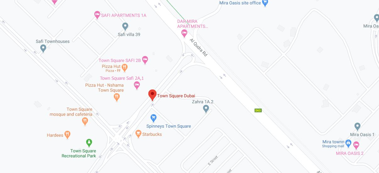 Safi Townhouses Locations